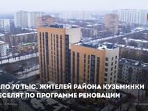Реновация в районе Кузьминки