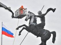Промывка монумента