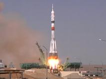 """Старт ракеты-носителя """"Союз-2.1а"""""""