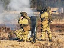 Военные учения армии России
