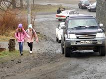 Школьники в Приморье