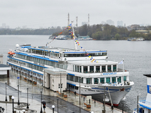 Открытие речной навигации на причалах Северного речного порта в Москве