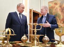 Владимир Путин и Михаил Пиотровский