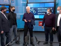 Сергей Собянин встретился с разработчиками МЭШ