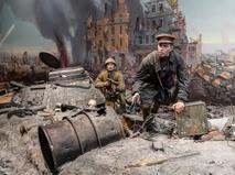 """Масштабная экспозиция """"Подвиг народа"""" в Музее Победы"""