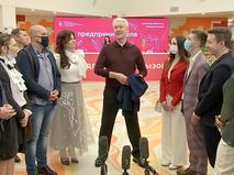 """Сергей Собянин посетил образовательный комплекс """"Техноград"""" на ВДНХ"""