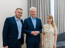 Сергей Собянин открыл Дворец бракосочетания