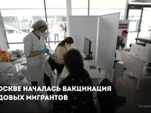 Вакцинация трудовых мигрантов