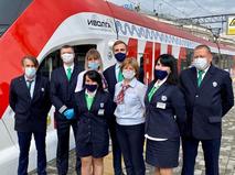 Сотрудники Московского транспорта