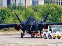 Новейший истребитель на авиасалоне МАКС-2021