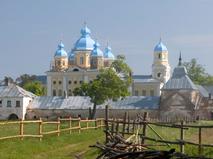 Мужской монастырь на Ладожском озере