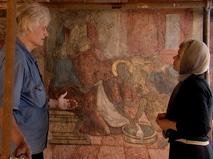В Сретенском монастыре восстанавливают уникальные фрески