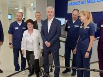 Сергей Собянин осмотрел новый корпус международного медкластера в Сколково