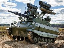 """Боевой робот """"Уран-9"""""""