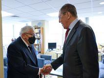 Сергей Лавров и Генри Киссинджер