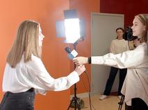 Школьники учатся журналистике