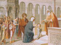Великие праздники. Введение во храм Пресвятой Богородицы