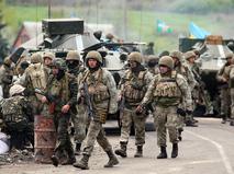 Украинские военные под Краматорском