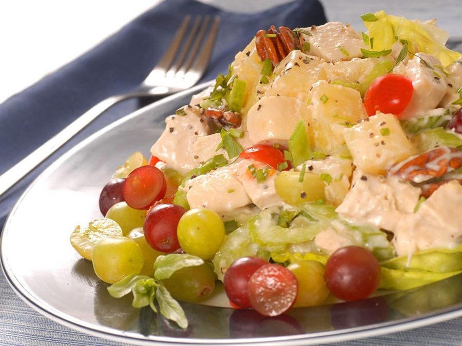 цены, салат с виноградом и курицей картинки наиболее