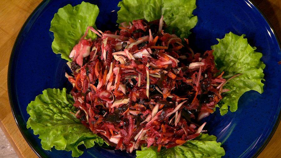 капуста морковь салат для похудения