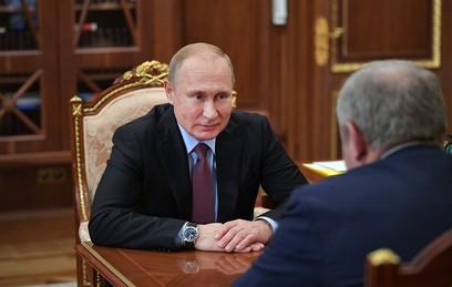 Путин поблагодарил парламентариев за эффективную работу