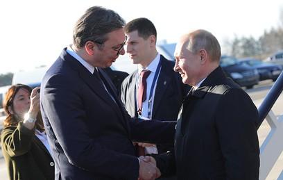 Визит большого друга: почему в Сербии так тепло встретили Путина