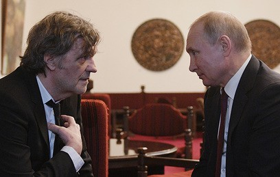 Кустурица заговорил с Путиным о политике