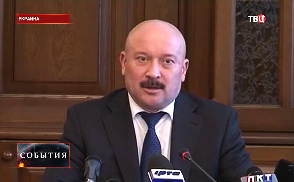 Губернатор Луганской области Михаил Болотских