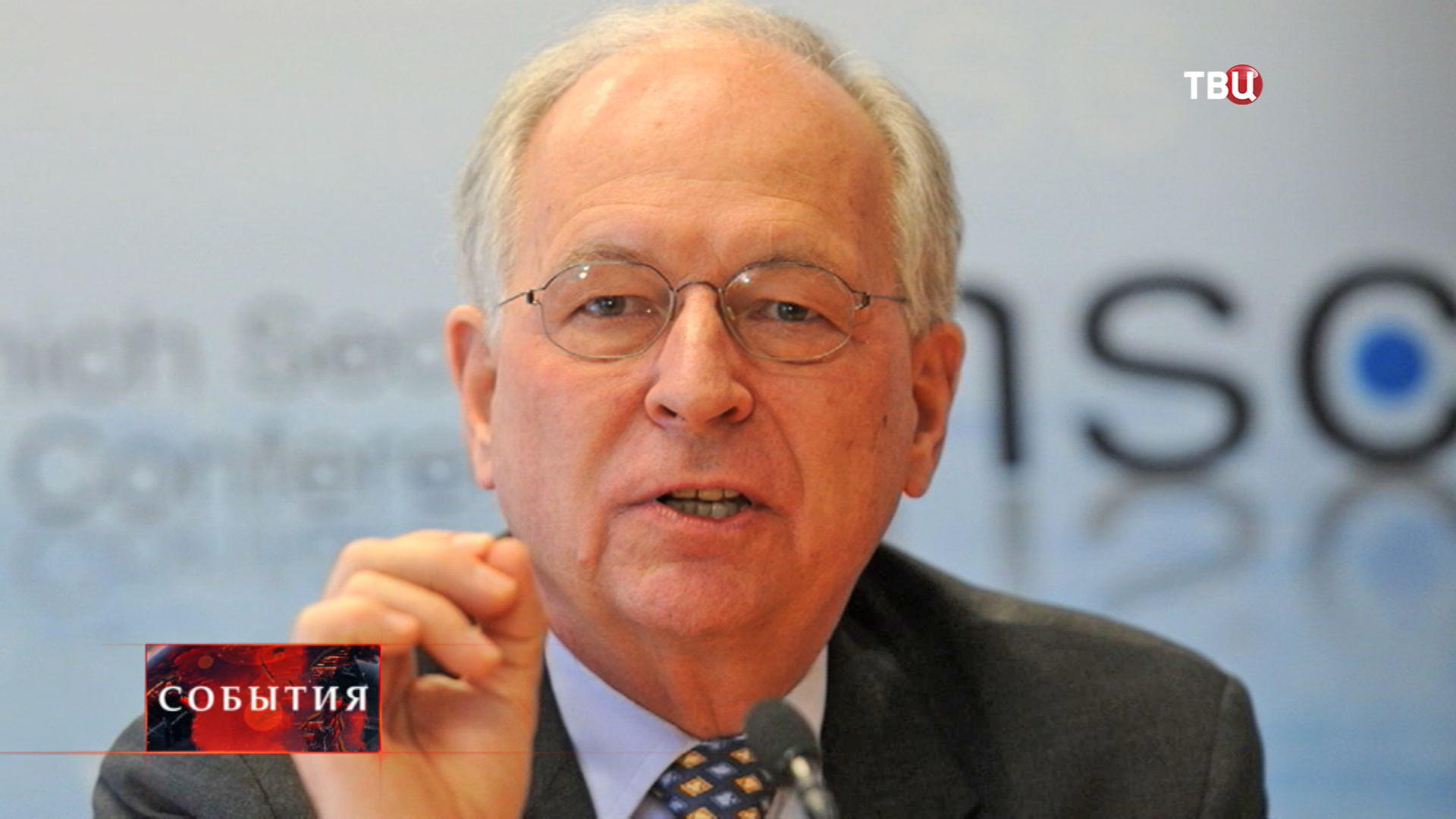 Экс-представитель ЕС по Косово Вольфганг Ишингер