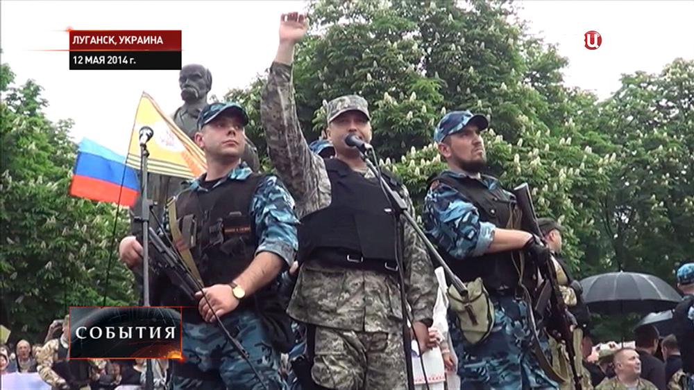 Губернатор Луганской народной республики Валерий Болотов