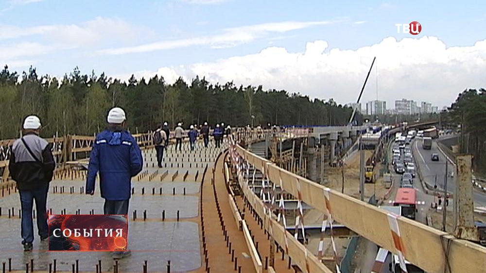 Строительство дорожной развязки