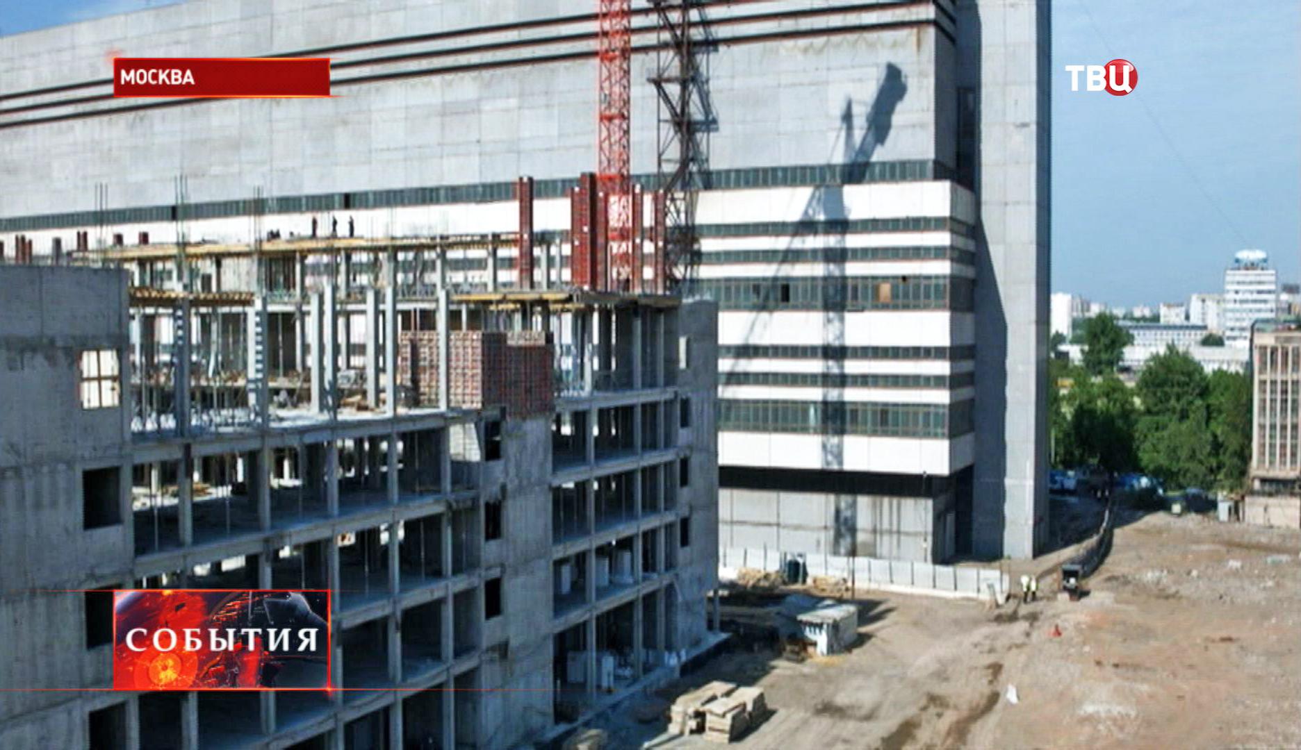 Реконструкция территории завода ЗИЛ