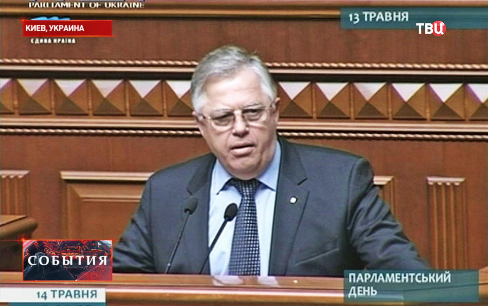 Лидер Компартии Украины  Петр Симоненко