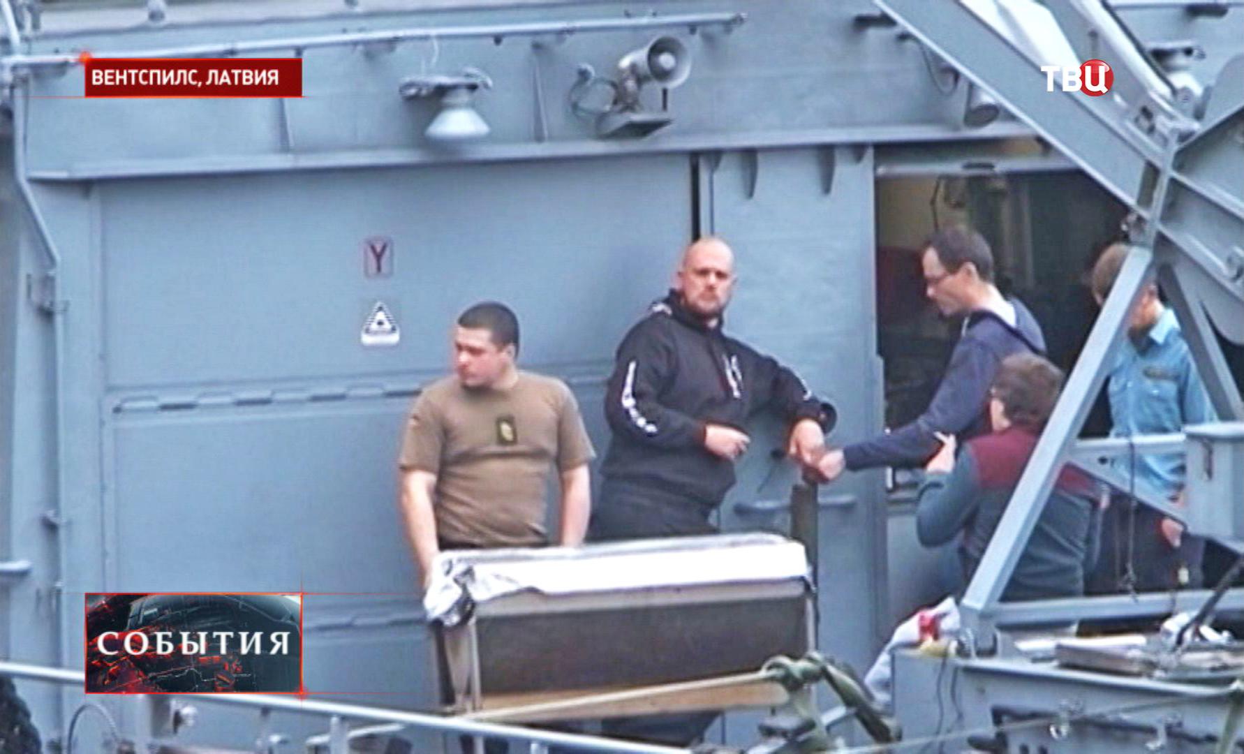 Моряки НАТО в Латвии