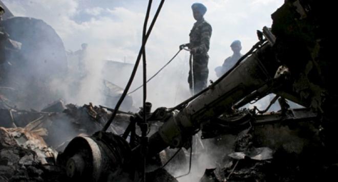 Авиакатастрофа в Лаосе