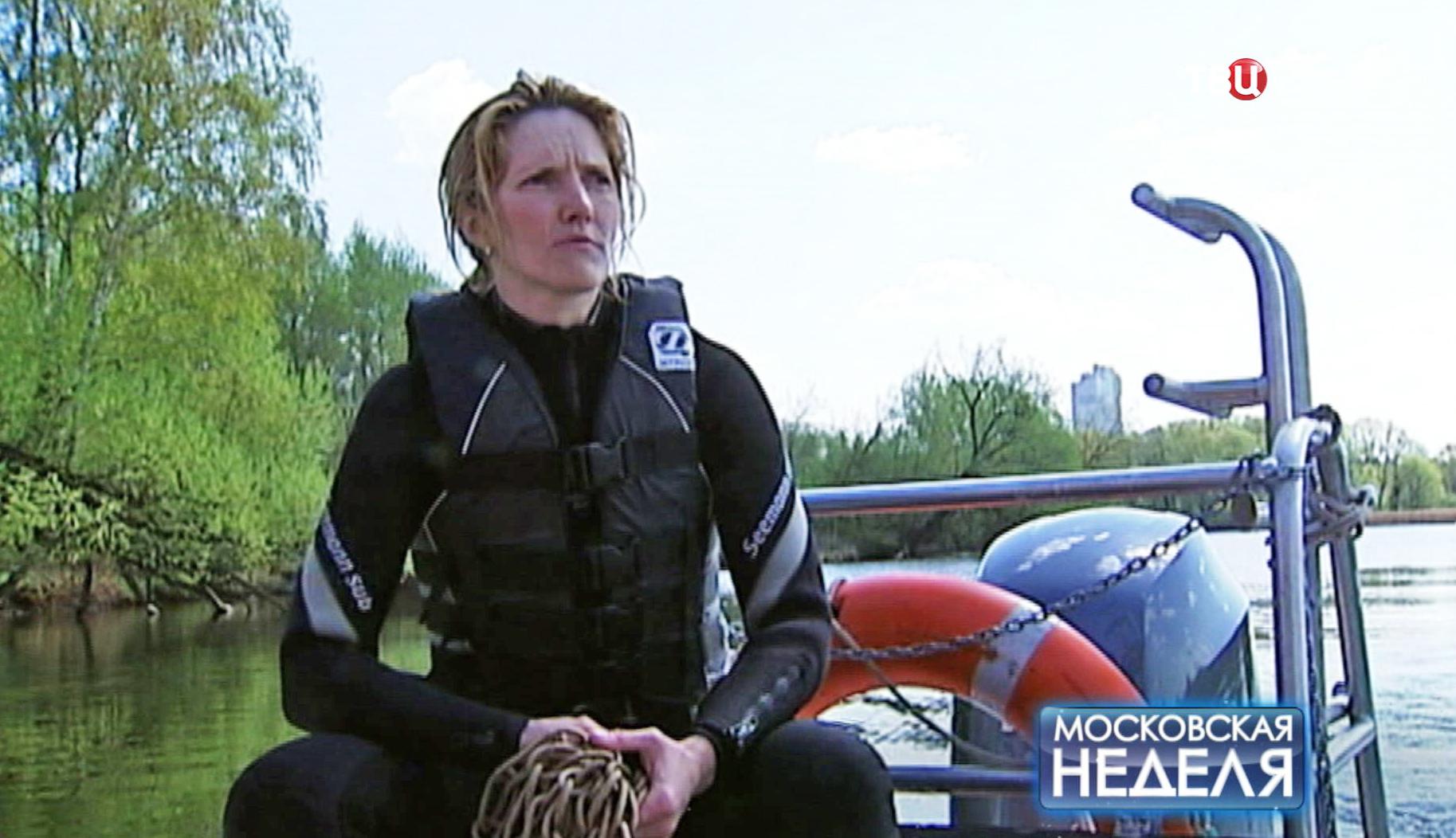 Водолаз-спасатель Оксана Шевалье