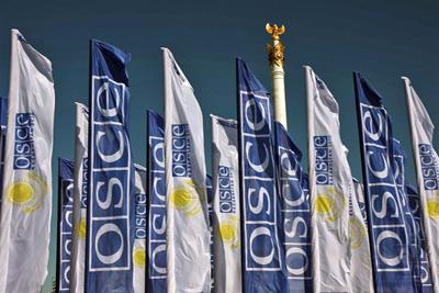 Флаги ОБСЕ