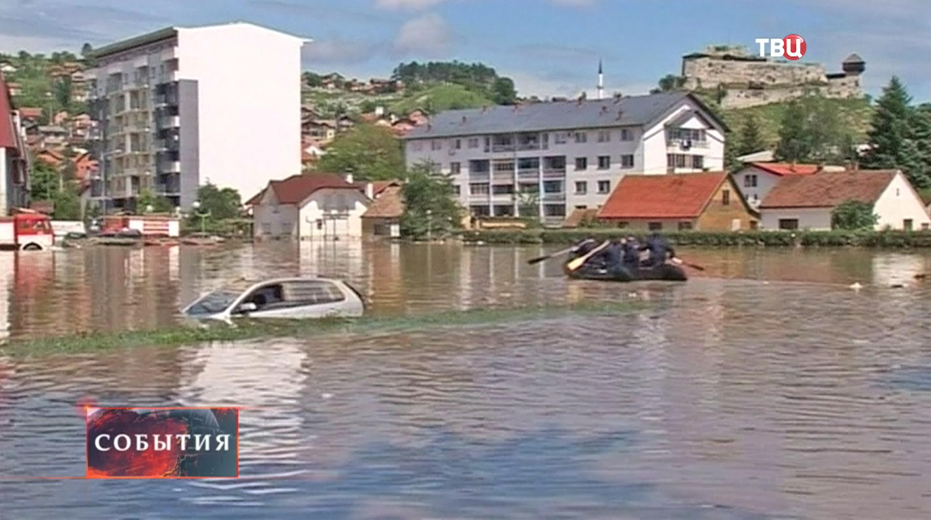 Наводнение в Боснии