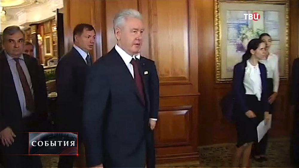 Мэр Москвы Сергей Собянин с деловой поездкой в Гонконге