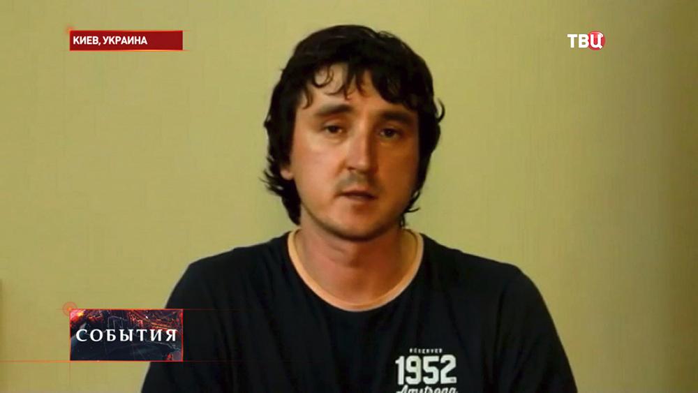 Журналист Life News Марат Сайченко