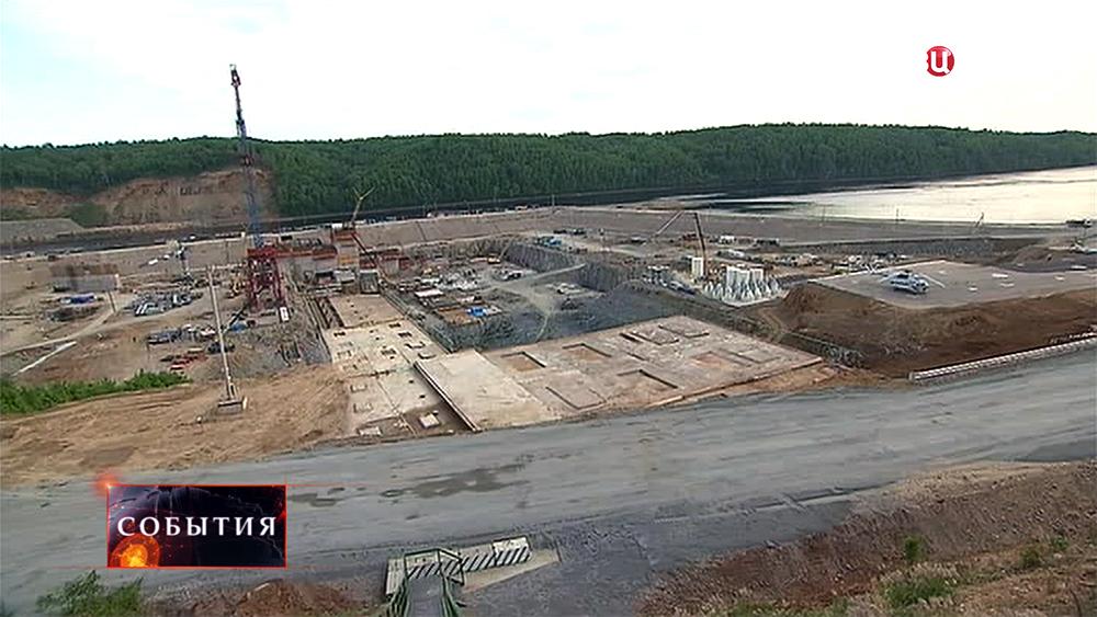 Строительство Нижне-Бурейскую ГЭС