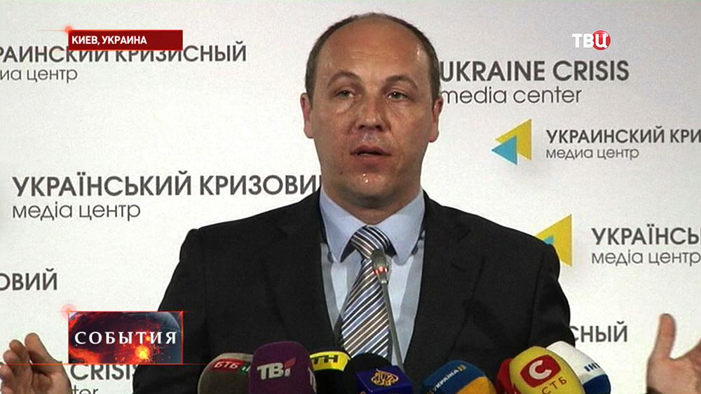 Секретарь СНБО Андрей Парубий