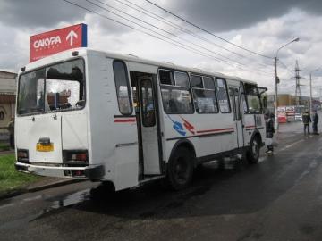 ЧП с автобусом в Красноярском крае