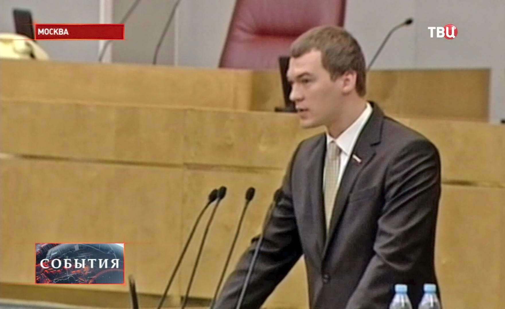 Депутат Госдумы Михаил Дегтярев
