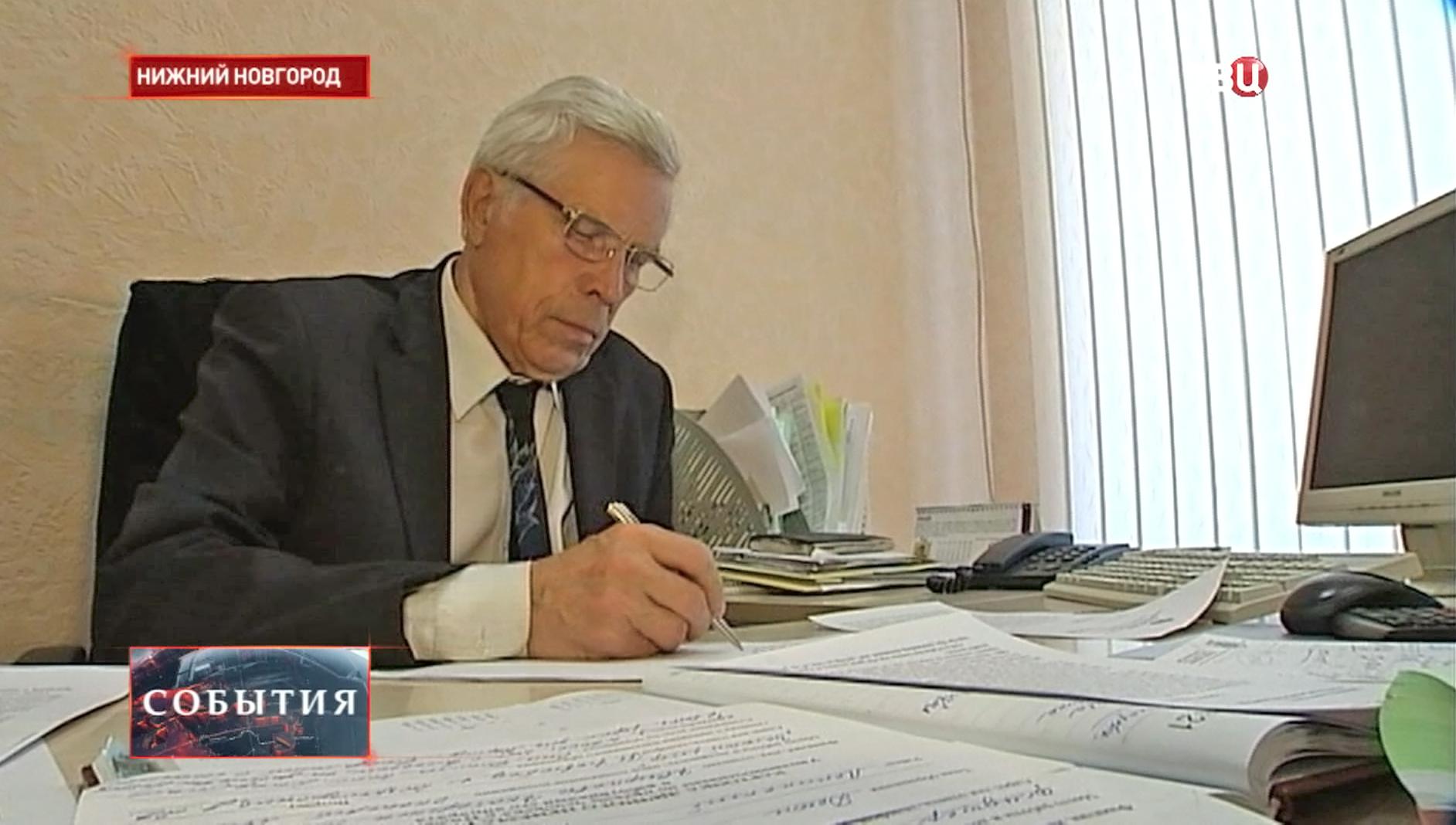 Уполномоченный по правам человека в Нижегородской области Василий Ольнев