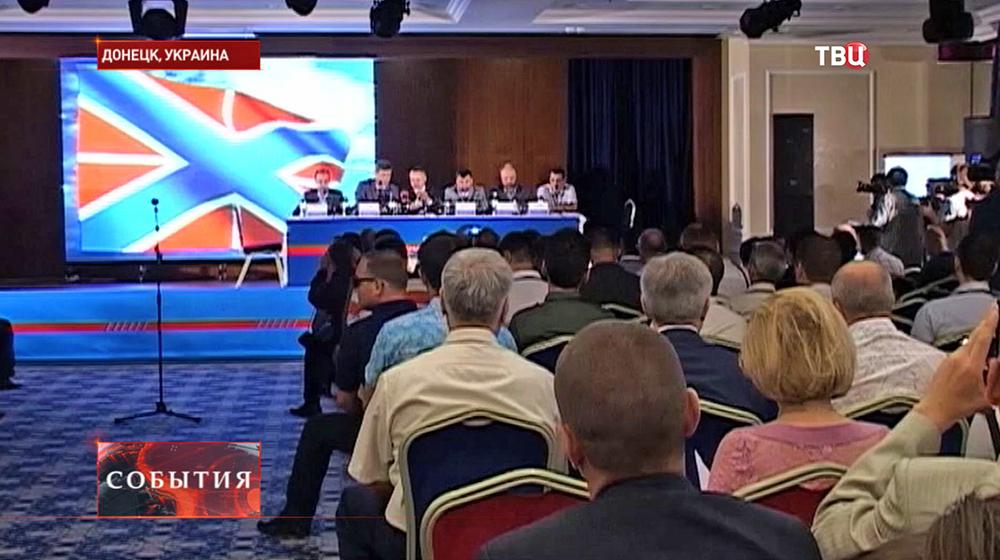 Заседание руководства Донецкой и Луганской республик