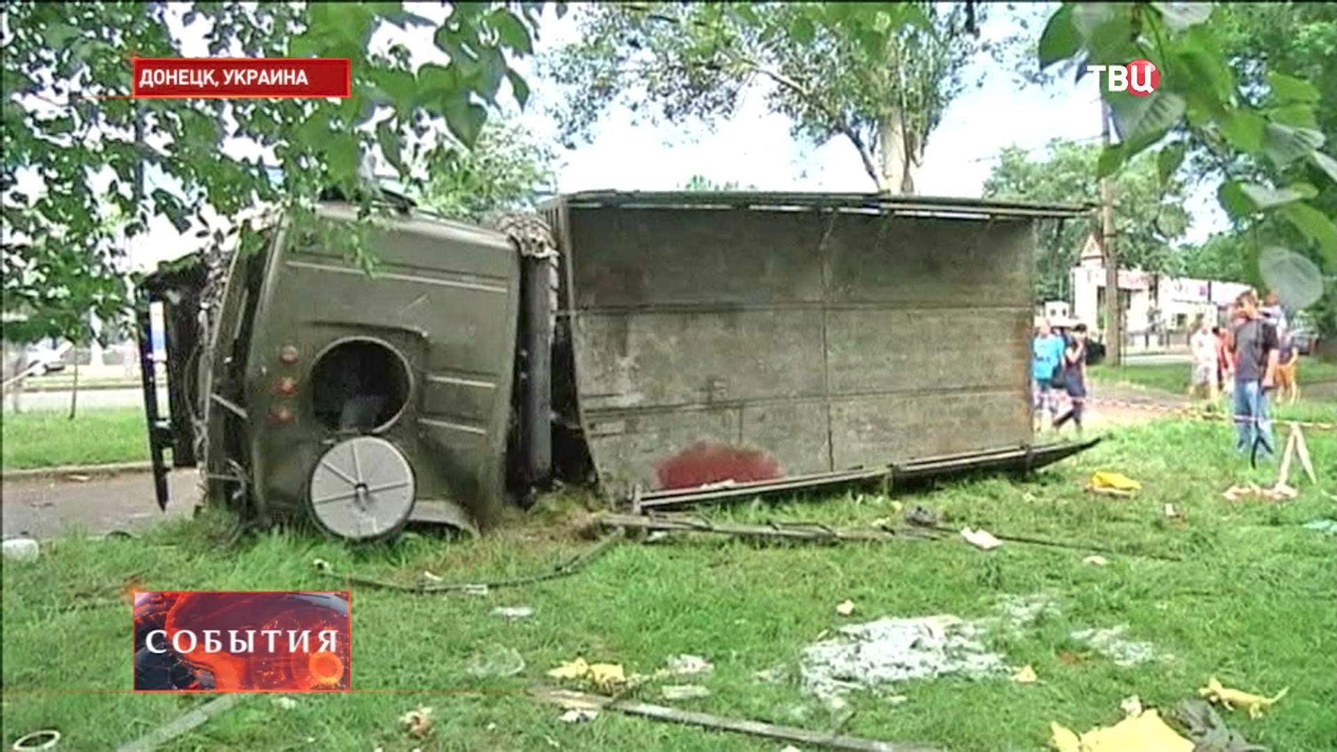 Военная техника в Донецке