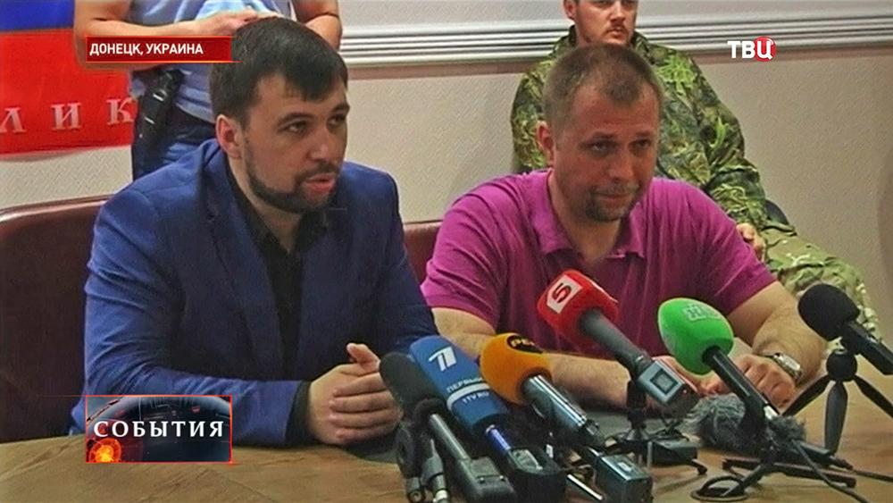 Глава Верховного совета Донецкой народной республики Денис Пушилин
