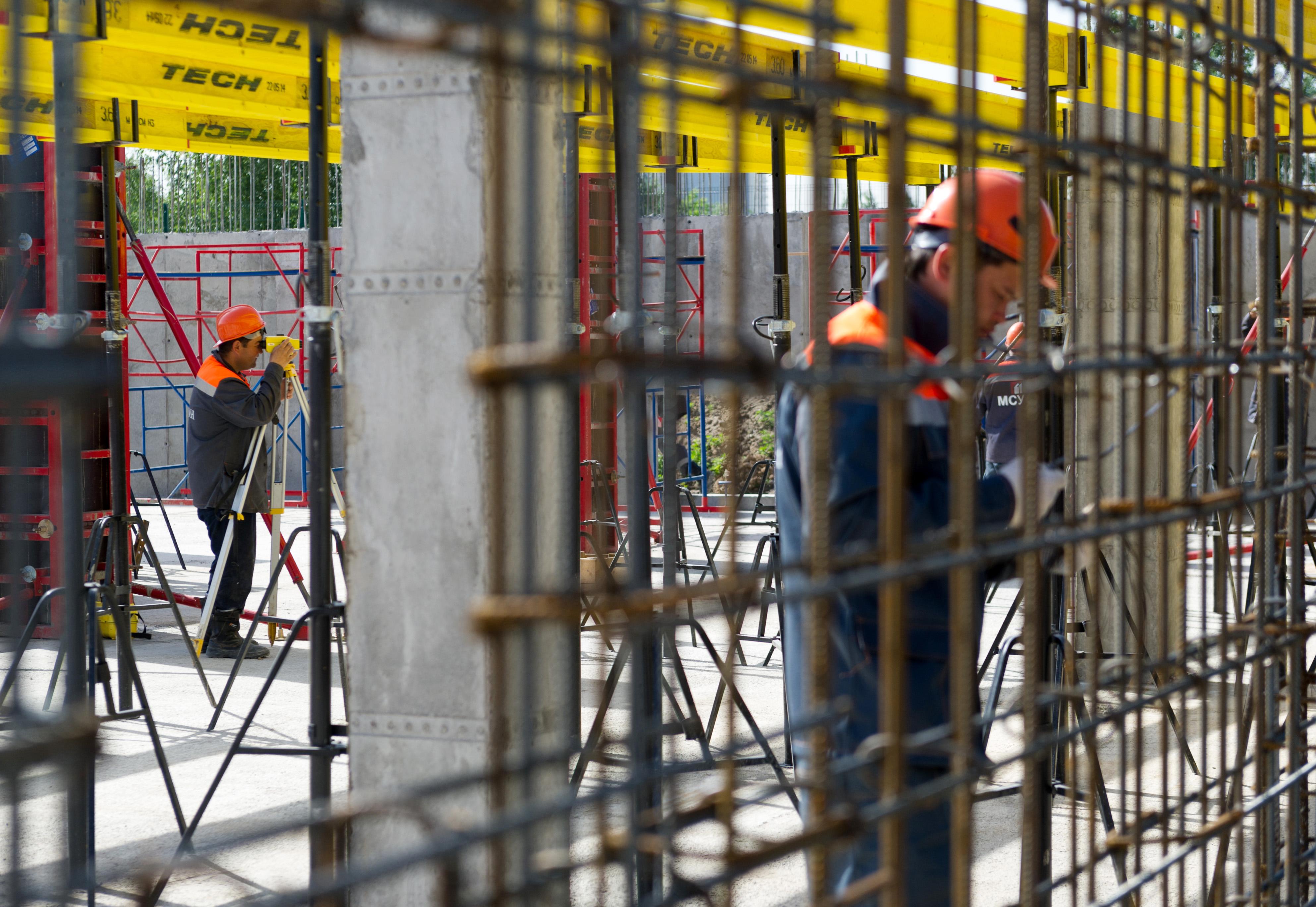 Строительство технопарка