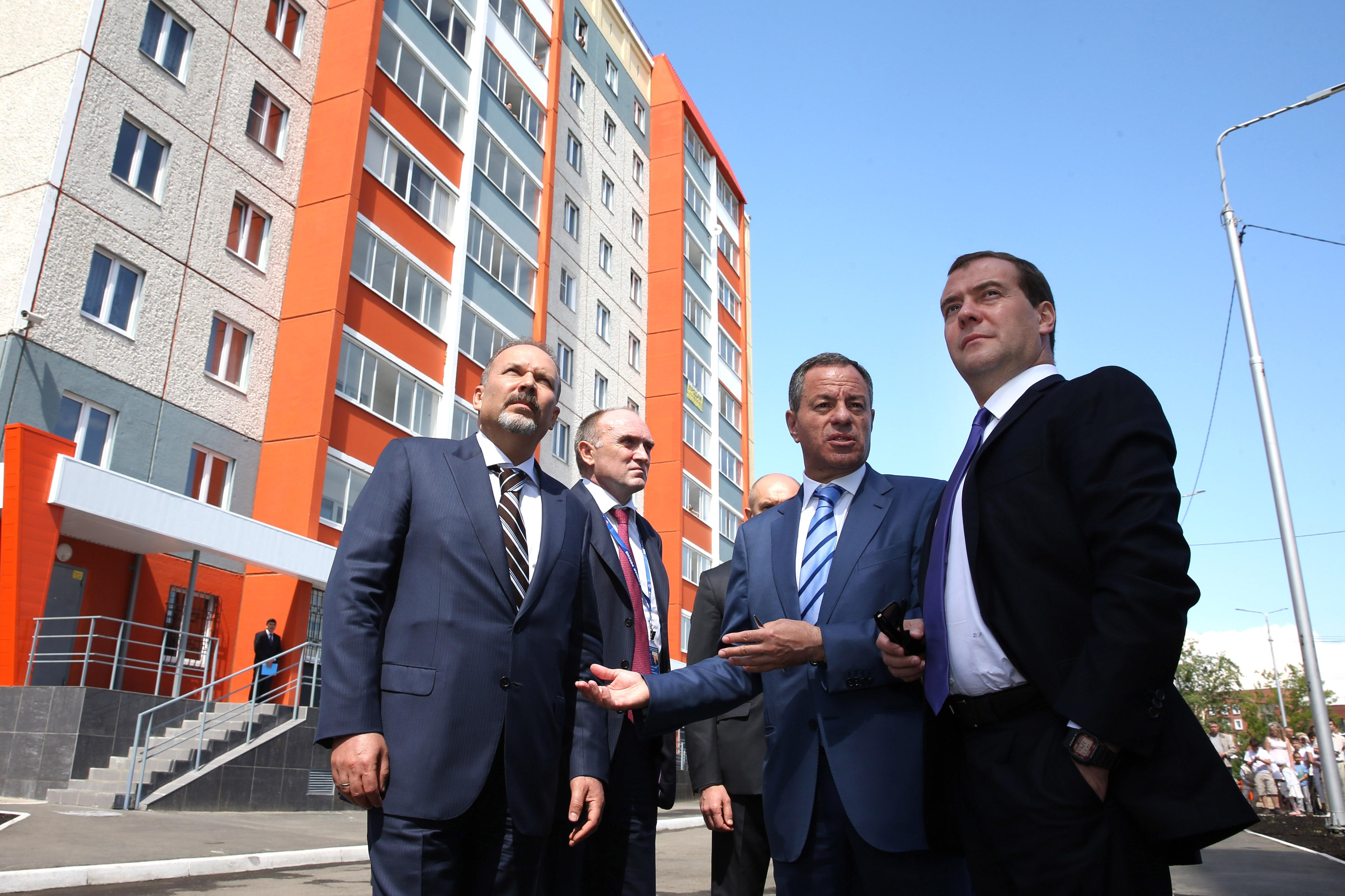 Рабочая поездка Дмитрия Медведева в Челябинск